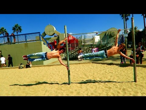 A DAY AT MUSCLE BEACH