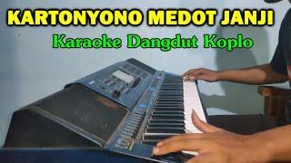 KARTONYONO MEDOT JANJI Karaoke Koplo Tanpa Vokal - Nada Cewek