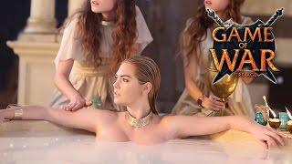 Kate Upton - Super Bowl commercial - Game of War 2015