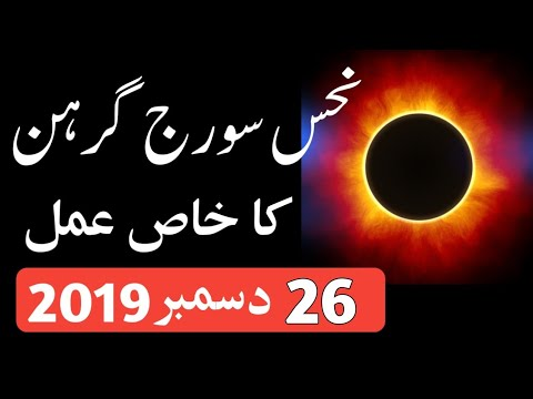 Powerful Qurani Wazifa For Solar Eclipse 21 June 2020 from YouTube · Duration:  10 minutes 44 seconds
