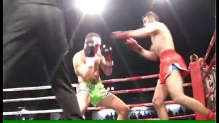 Tom Minners vs Thanasis Misohronis 12 12 15 Kickmas