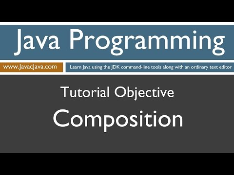 Learn Java Programming - Composition Tutorial