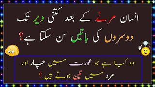 Фото Dilchasp Paheliyan In Urdu - General Knowledge Questions - IQ Test