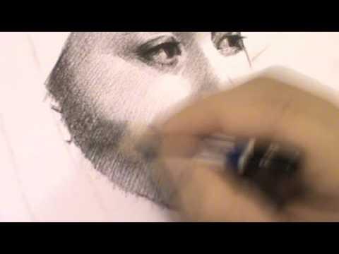 Drawing portrait Artiste ภาพวาดลายเส้นนักแสดงภาพยนต์เรื่องพี่มากพระโขนง