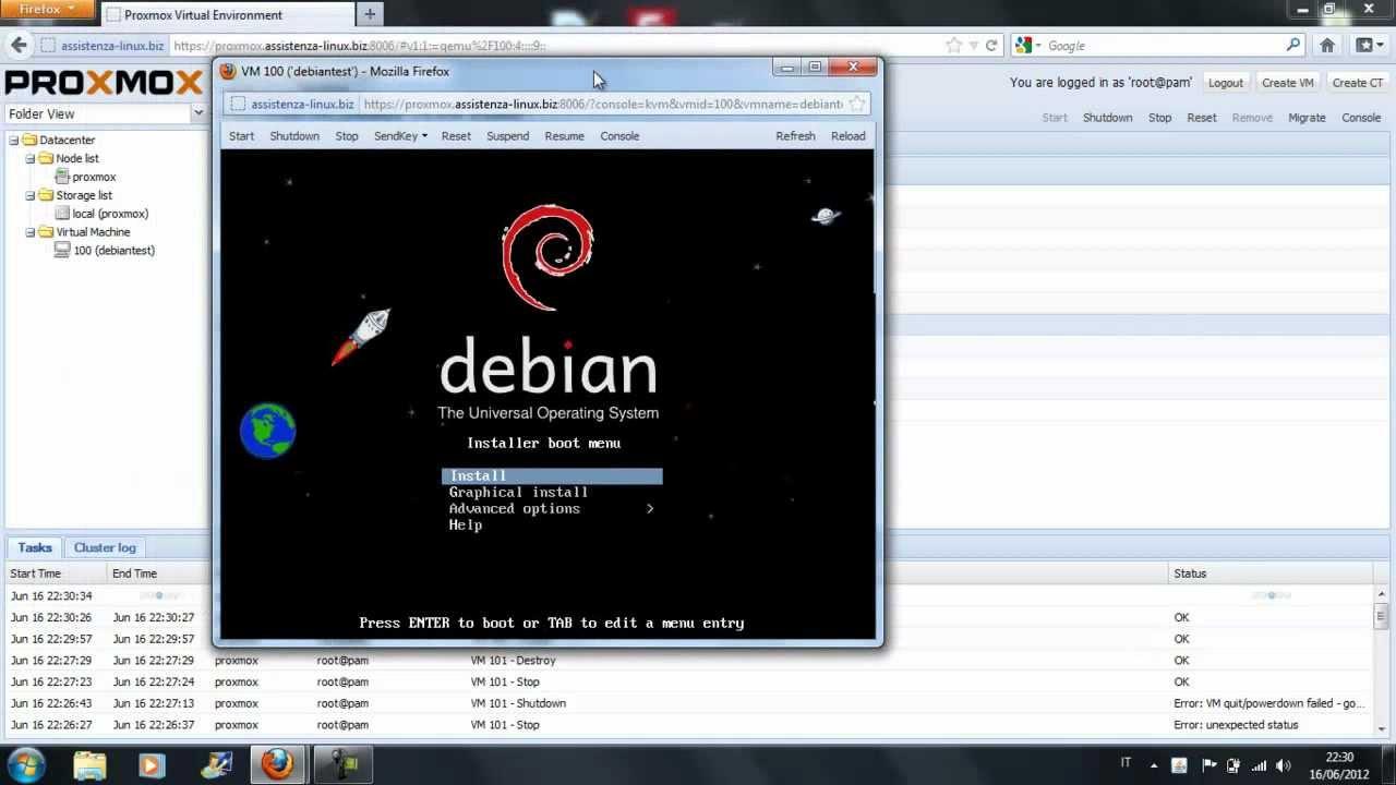 Proxmox Virtual Environment - Open Source Virtualization