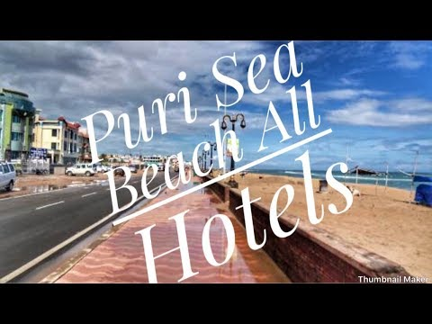 ALL HOTELS AT PURI SEA BEACH || MARINE DRIVE ROAD || Swargadar || ODISHA TOURISM ||