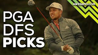 PGA DFS Picks Live Before Lock - 2019 Mayakoba Golf Classic / Видео
