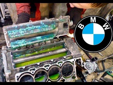 Труба от пылесоса в моторе от BMW 7 за 150к. Эпизод 4.