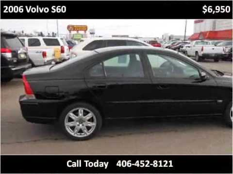 2006 Volvo S60 Used Cars Great Falls Mt Youtube