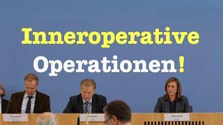 Inneroperative Operationen! - Herrliche Bundespressekonferenz vom 21. September 2016