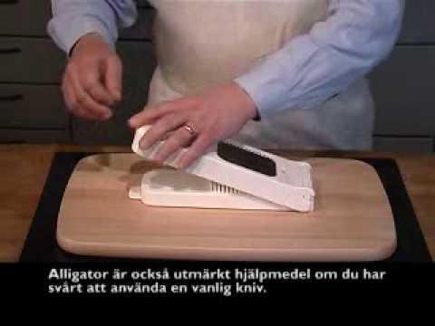 Välkända Alligator - lökskärare - YouTube JJ-11