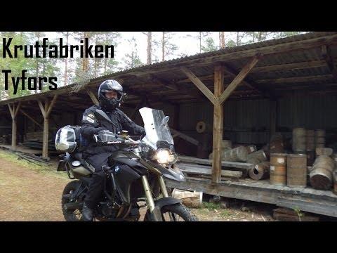 Motorcycle Adventure in Tyfors Sweden (Full Movie Eng + Swe)