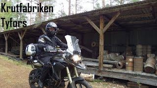 Motorcycle Adventure in Tyfors Sweden (Full Movie Eng + Swe)