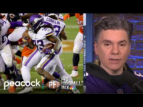 Vikings get just enough on offense to topple Bears | Pro Football Talk | NBC Sports