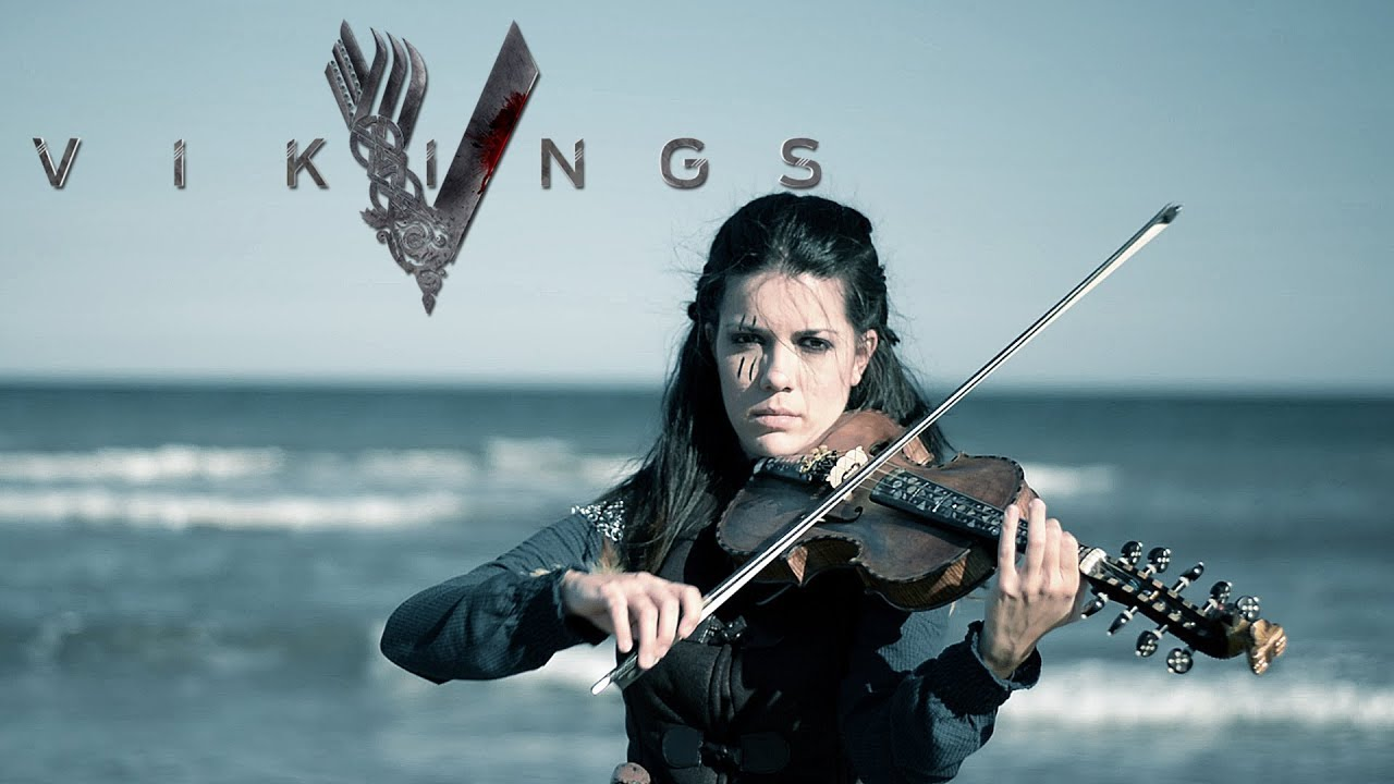 Vikings Soundtrack (If I Had A Heart) Hardanger Violin Cover by VioDance