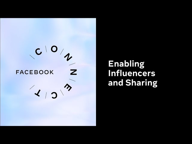 Enabling Influencers and Sharing l Facebook Connect