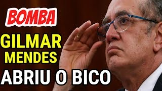 Gilmar Mendes se CANSA e REVELA verdadeira CAUSA da PRISÃO de Lula