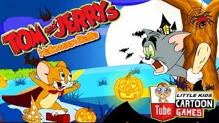 Fun TOM AND JERRY SHOW - HALLOWEEN BATTLE. Tom and Jerry 2017 Games. Baby Games  #LITTLEKIDS