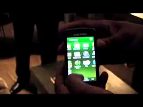 Samsung Omnia Pro preview demonstration hands on