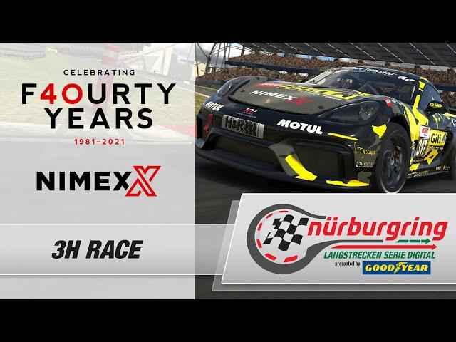 NIMEX 3h-Rennen – Rennen 4 Digitale Nürburgring Langstrecken-Serie presented by Goodyear