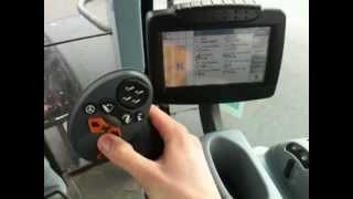 Ciągnik New Holland T7.170 + IntelliView III + Sidewinder II  - Wnętrze Kabiny / Warpol-Agro