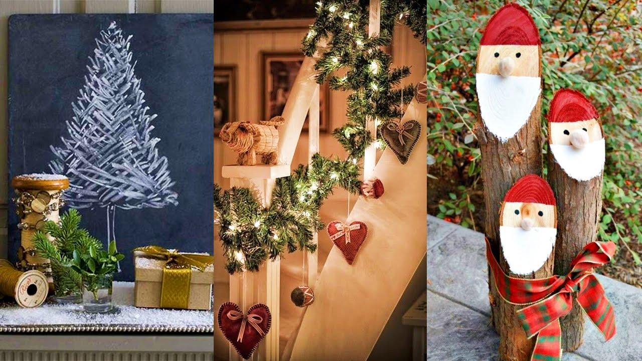 Adornos para navidad noche buena a o nuevo youtube for Arreglo para puertas de navidad