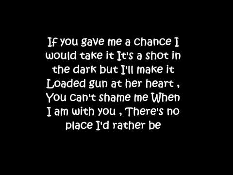 No place I'd rather be lyrics HD