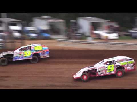 8-26-16 Modified Heat #2 Bloomington Speedway