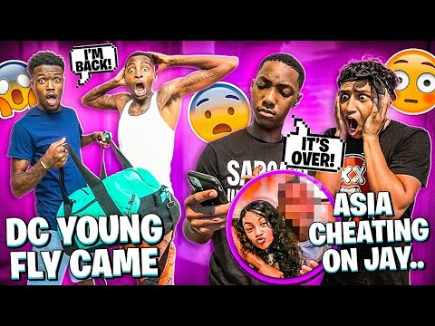 JAY THINK HIS CRUSH GOT ANOTHER BOYFRIEND & DC YOUNG FLY CAME TO VISIT!
