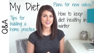 Q&a #3 - My Diet & Training Schedule, Plans For Future Videos, Difference Between Routine & Practice