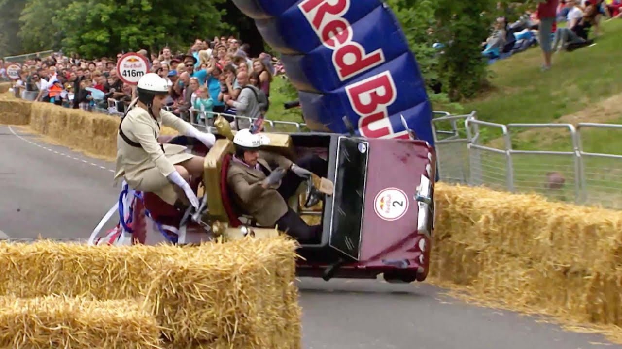 Best Crashes from Red Bull Soapbox Race London 2015 - YouTube