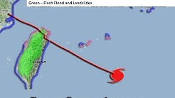 Typhoon Soulik, Friday Morning Update and Outlook