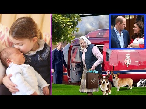 The queen finds out the terrible secret when she went to visit Kate Middleton and Prince Louis