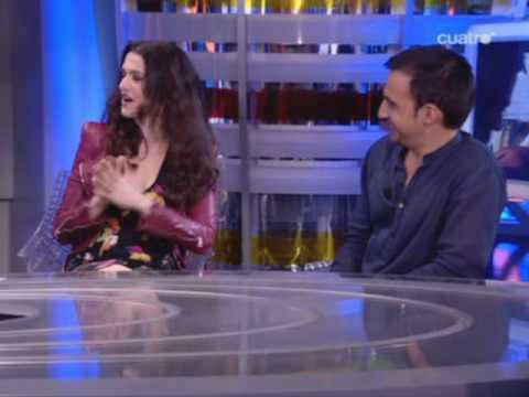 El hormiguero: Rachel Weisz y Alejandro Amenábar