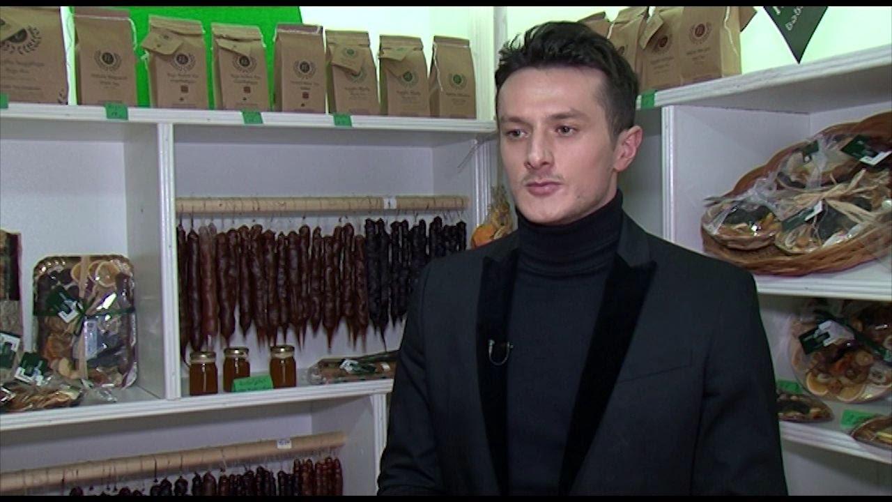 ახალბედა ბიზნესმენი გური სალუქვაძე  ქართული ბრენდი ჩირჩხელა ნაციონალური ჯანსაღი ნუგბარი