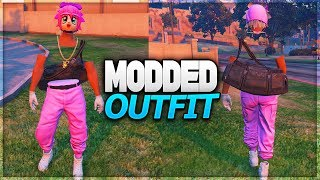 GTA 5 ONLINE *MODDED OUTFITS WITH INVISIBLE TORSO(STICK) USING CLOTHING GLITCHES 1.40 (GTA 5 OUTFIT)