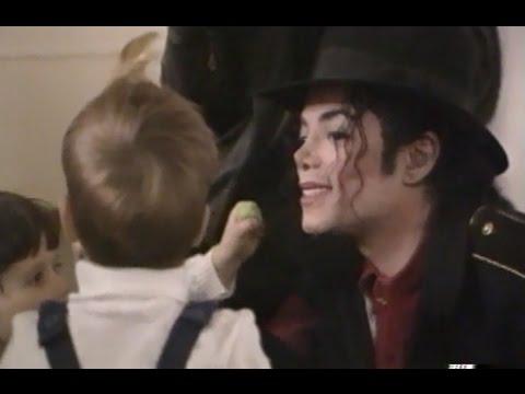 Michael Jackson in Romania (1996) -  The Lost Children