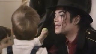 Michael Jackson in Romania (1996) -  The Lost Children