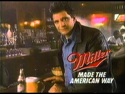 1987 Ed Marinaro Miller Beer and ABC Show Promo