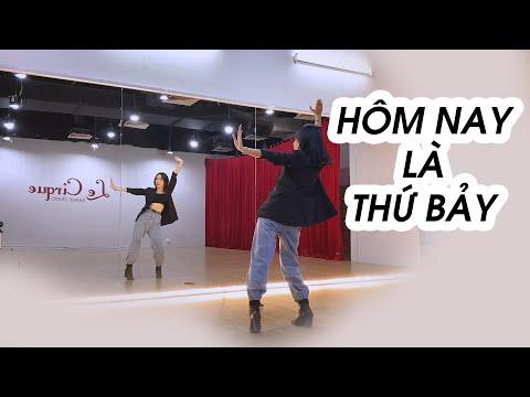 """Dạy """"Hôm nay là thứ 7"""" - cô Phương Hoa   Dancing with Minhx"""