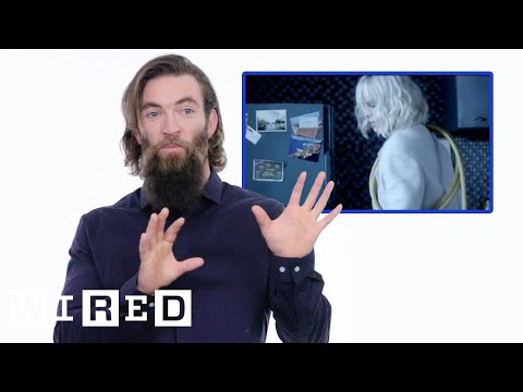Movie Stunt Coordinator Breaks Down 'Atomic Blonde' Fight Scene | WIRED