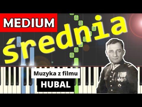 🎹 Muzyka z filmu Hubal (W. Kilar) - Piano Tutorial (średnia wersja) 🎹