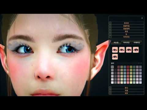 Black Desert #CB2 Character Creation(English Commentary)