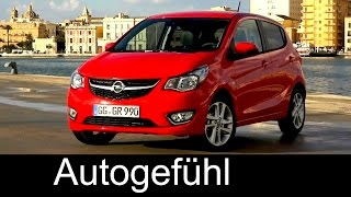 2015 All-new Opel Karl / Vauxhall Viva MPV first driving shots, exterior & interior...