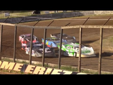 RUSH Crate Late Model Heat Two | Eriez Speedway | 5-14-17