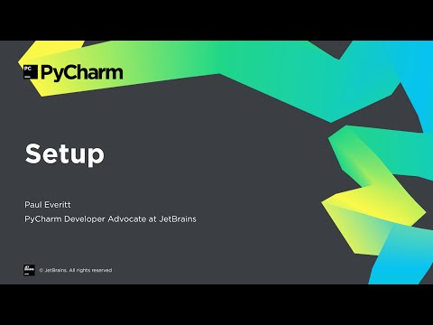 Getting Started With PyCharm 1/8: Setup