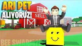 🐝 Arı PET Alıyoruz! Bee Swarm?! 🌾 | Farming Simulator | Roblox Türkçe