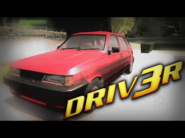Driv3r PC Max Graphics 1080p, 60fps (Back When Games Had Real Character)