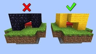 ВЫБЕРИ ПРАВИЛЬНУЮ ЗАЩИТУ КРОВАТИ, ЧТОБЫ ВЫЖИТЬ - Minecraft Bed Wars