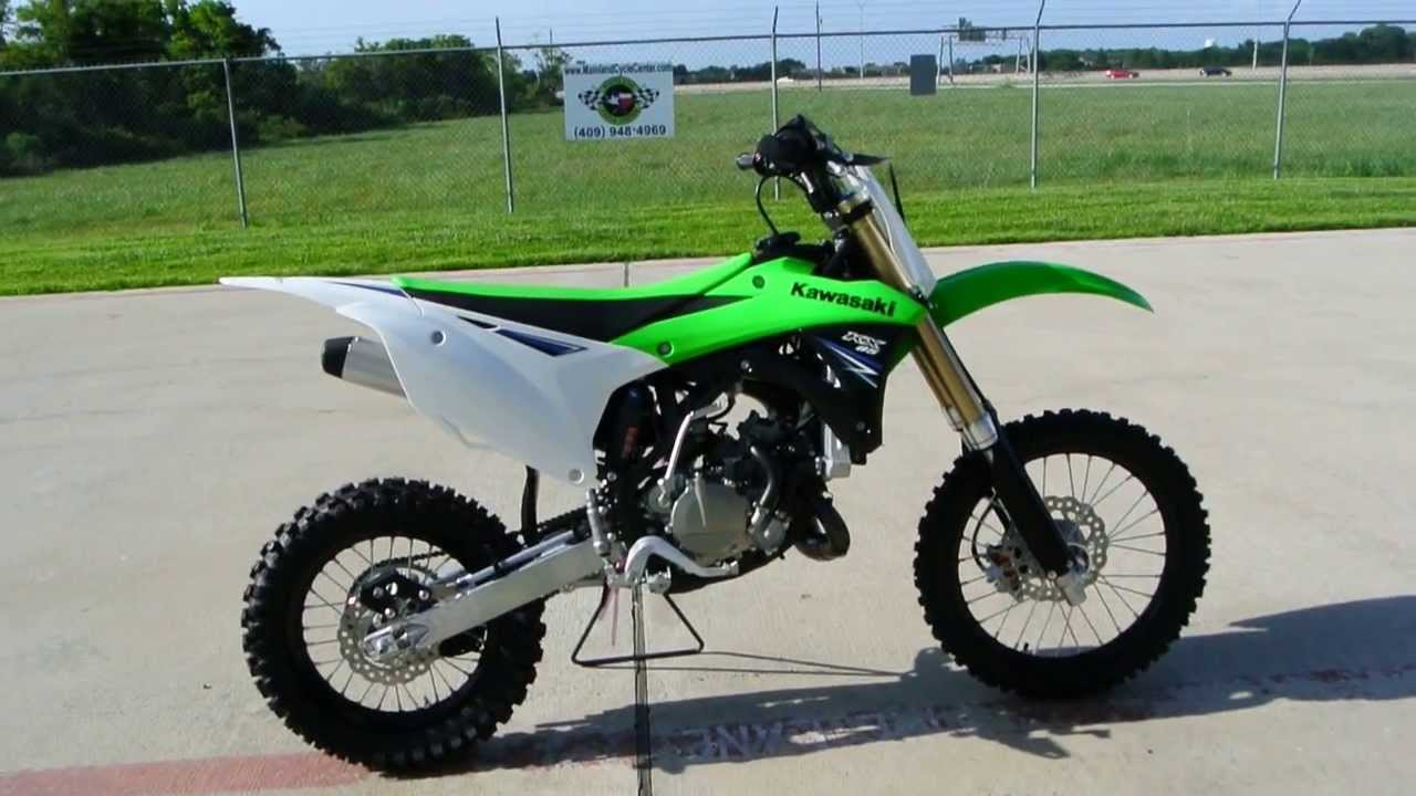 4349 The New 2014 Kx85 Overview By Mainland Cycle Center Youtube